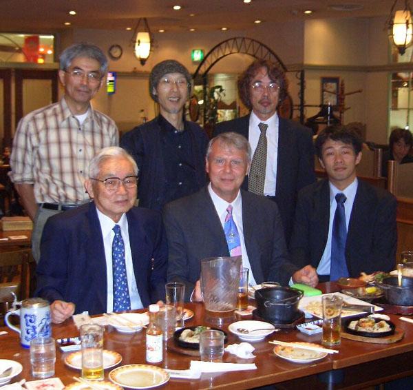 Präsidiumsmitglied Werner Sowa bei der JDG Ishikawa
