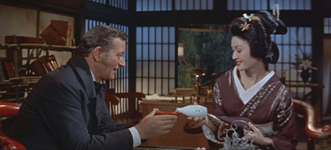 """11. Mai Japanischer Filmabend """"Der Barbar und die Geisha"""""""