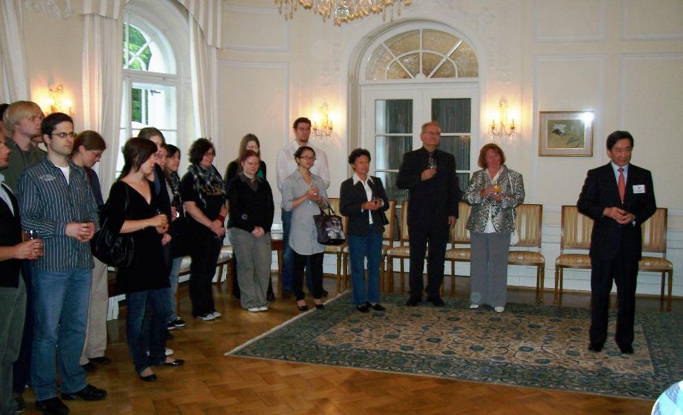 24.06. Besuch beim Generalkonsul in München