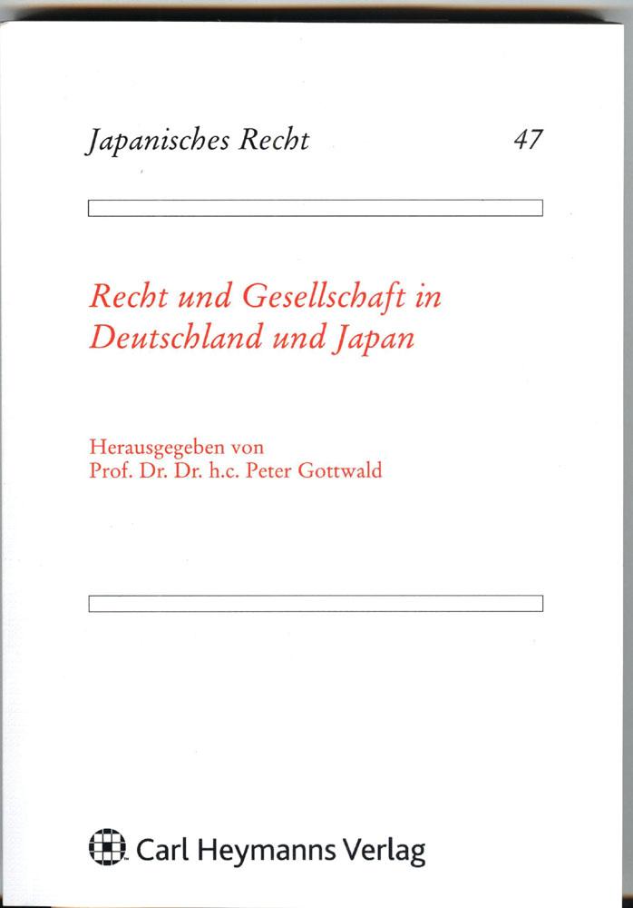 Buch: Recht und Gesellschaft in Deutschland und Japan