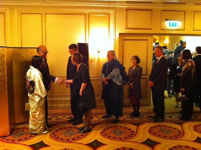 Empfang des japanischen Generalkonsuls