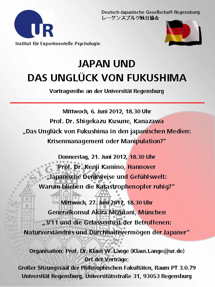 Vorträge im Juni 2012