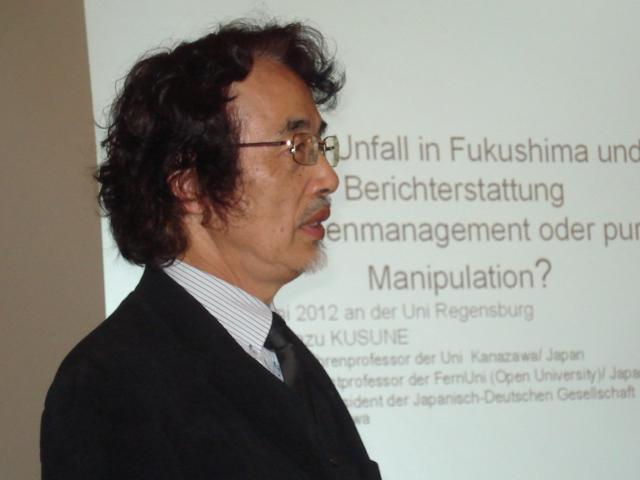 Vortrag Prof. Kusune und Monatstreff Juni