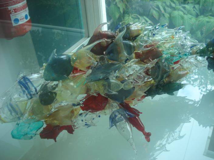 Ausflug zur Glasfachschule Zwiesel und zum Glasmuseum Frauenau am 16. Juli 2012