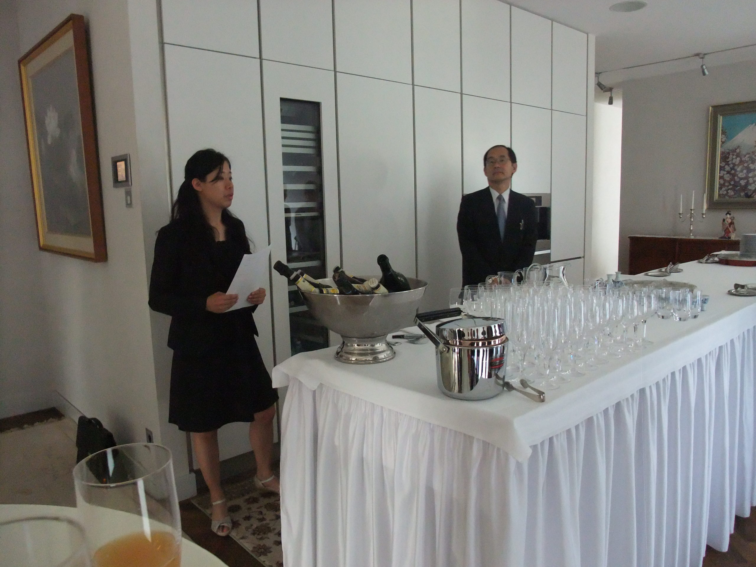 Empfang des japanischen Generalkonsuls 2014