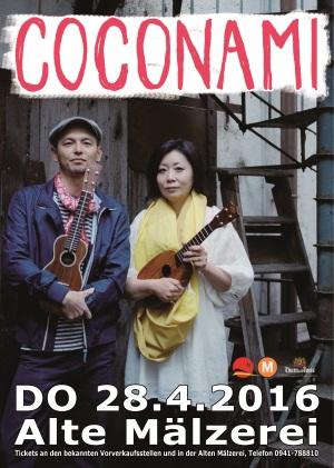 Coconami-Konzert