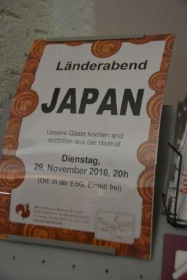 "ESG Länderabend ""Japan"""