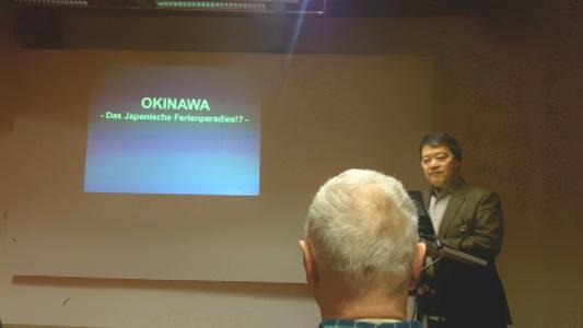 """Vortrag """"OKINAWA -Das Japanische Ferienparadies!?"""""""