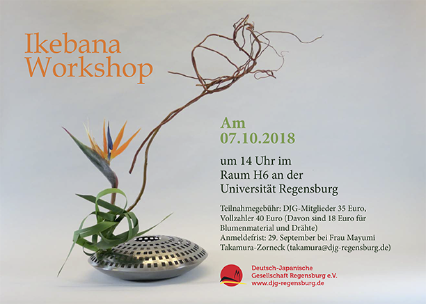 Ikebana-Workshop 2018