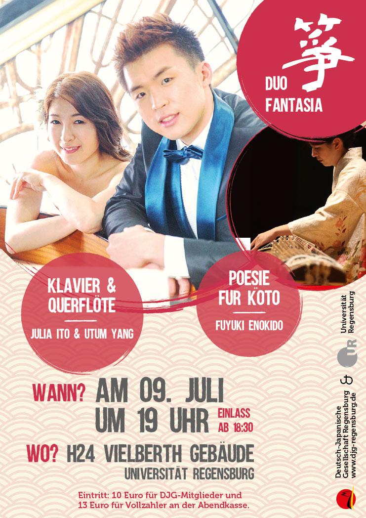 Konzert: Koto, Klavier und Querflöte 2019